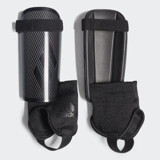 X Youth Shin Guards Black / Grey Four / Black DY2585