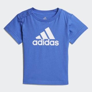 Playera Favorite HI-RES BLUE S18/WHITE CF7441