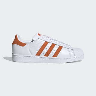 Scarpe Superstar Cloud White / Orange / Cloud White EE4472