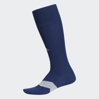 Metro Soccer Socks 1 Pair Dark Blue / White / Clear Grey S48955