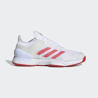 Adizero Ubersonic 2.0 Shoes Cloud White / Active Red / Cloud White EG2595
