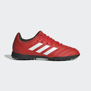 Copa 20.3 Turf Boots Active Red / Cloud White / Core Black EF1922