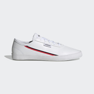 Courtflash X Schuh Cloud White / Shock Red / Core Black EH2531