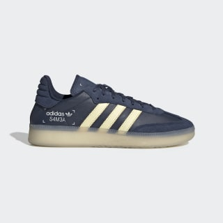 Samba RM Shoes Collegiate Navy / Easy Yellow / Grey One EE5503
