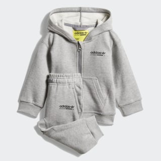 Kaval Hoodie Set Medium Grey Heather D96081