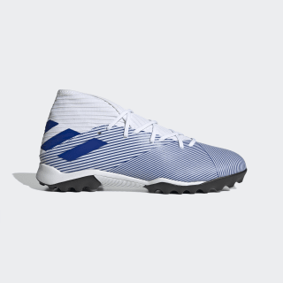 Zapatilla de fútbol Nemeziz 19.3 moqueta Cloud White / Team Royal Blue / Core Black EG7228