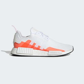 Chaussure NMD_R1 Cloud White / Cloud White / Solar Red EE5083