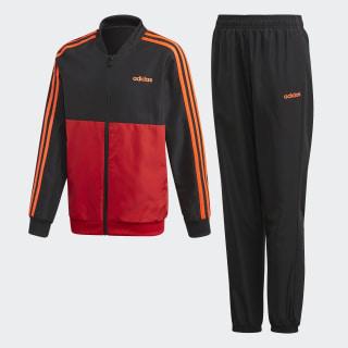 Спортивный костюм YB TS WOVEN Scarlet / Black FM6561