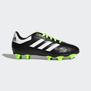 Goletto 6 Firm Ground Cleats Core Black / Cloud White / Solar Green BB0570