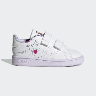 Chaussure Advantage Cloud White / Cloud White / Purple Tint EG3861