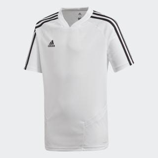Camiseta entrenamiento Tiro 19 White / Black DT5295