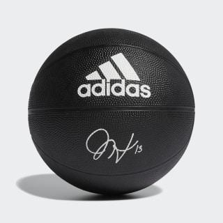 Basketbalový míč Harden Signature Black / White DY7897