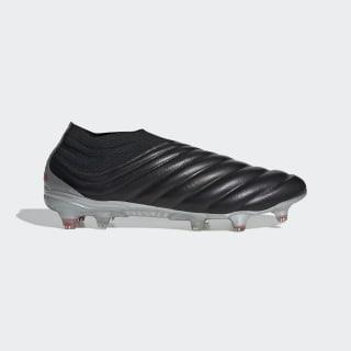 Bota de fútbol Copa 19+ césped natural seco Core Black / Hi-Res Red / Silver Met. F35514