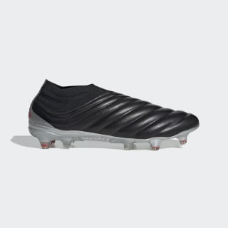 Calzado de Fútbol Copa 19+ Terreno Firme Core Black / Hi-Res Red / Silver Metallic F35514