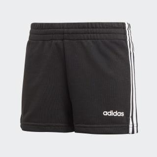 Essentials 3-Streifen Shorts Black / White DV0351