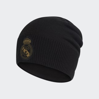 Bonnet Real Madrid Climawarm Black / Dark Football Gold DY7727