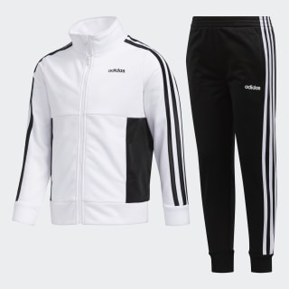 Logo Jacket Jogger Set White CM7031