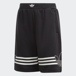 Outline Shorts Black / White DW3863