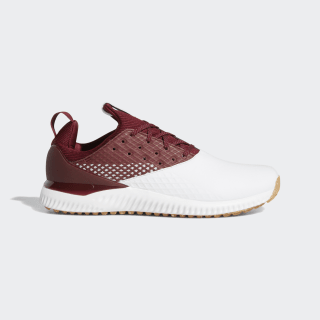 Adicross Bounce 2.0 Shoes Cloud White / Collegiate Burgundy / Gum F35410