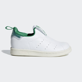 Tenis Stan Smith 360 Cloud White / Cloud White / Green AQ1112