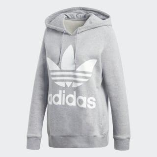 Sweat-shirt à capuche Trefoil Medium Grey Heather CY6665