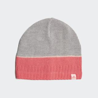 Striped Mütze Medium Grey Heather / Super Pink / Haze Coral DJ2269