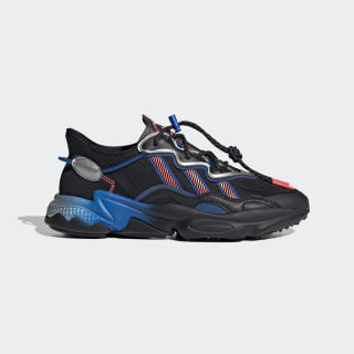 OZWEEGO Shoes Core Black / Trace Grey Metallic / Flash Red FW4272