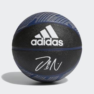 Dame Signature Mini Basketball Black / Mystery Blue / White S99280