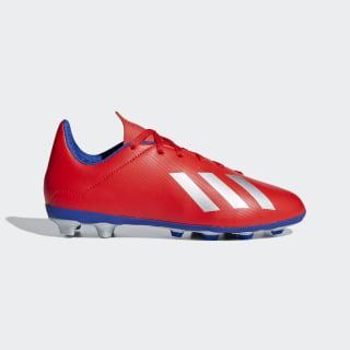 calzado de fútbol X 18.4 Multiterreno active red / silver met. / bold blue BB9379