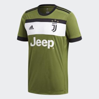 Игровая футболка Ювентус Third craft green f16 / black AZ8711