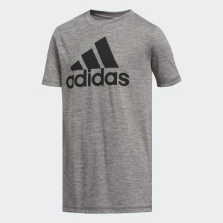 M��lange Badge of Sport Tee Medium Grey BI5628