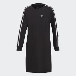 3-Streifen Kleid Black / White DV2887