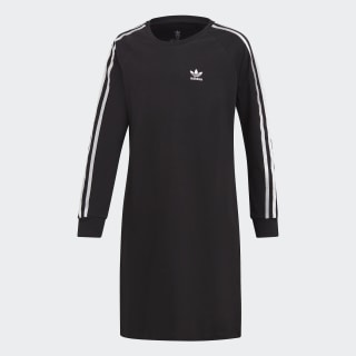 Šaty 3-Stripes Black / White DV2887