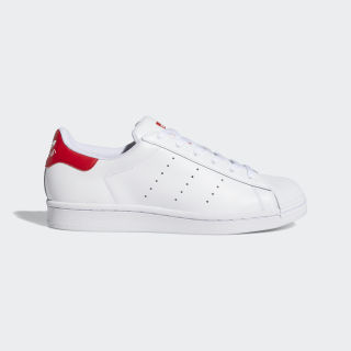 Superstan Shoes Cloud White / Cloud White / Scarlet FX4726