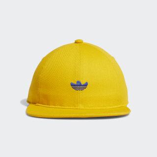 Shmoo Six-Panel Cap Active Gold / Collegiate Royal / Black / White EH5510