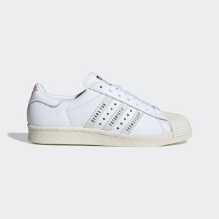 Superstar 80s Human Made Schuh Core Black / Cloud White / Off White FY0730