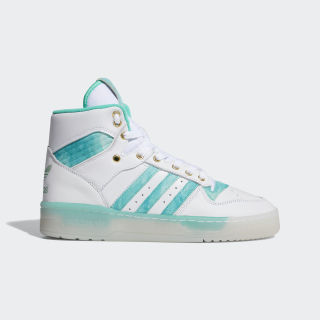 Rivalry Shoes Cloud White / Hi-Res Green / Gold Foil FV4526