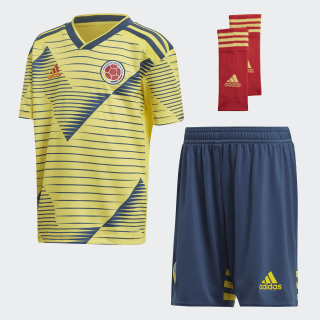 Mini Uniforme Titular Selección Colombia 2019 light yellow / night marine DN6616