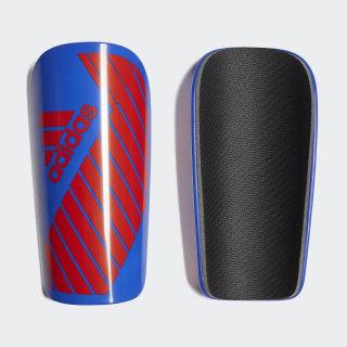 X Lesto Shin Guards Bold Blue / Active Red DN8612
