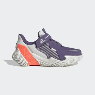 Zapatillas para correr 4UTURE Runner Orbit Grey / Tech Purple / Signal Coral EG8338