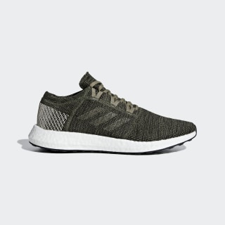 Pureboost Go Shoes Base Green / Trace Cargo / Clear Brown AH2325