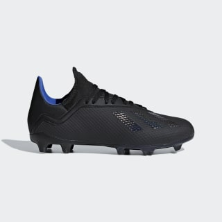X 18.3 Firm Ground Boots Core Black / Core Black / Bold Blue D98184