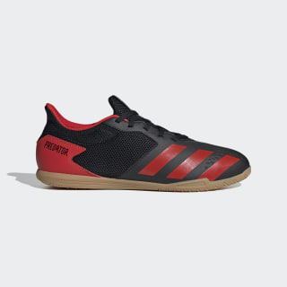 Zapatilla de fútbol sala Predator 20.4 Indoor Core Black / Active Red / Core Black EE9580