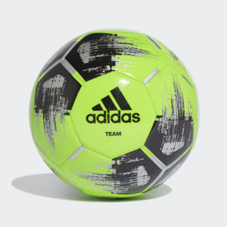 Bola Team Capitano Solar Green / Black / Silver Met. DY2506