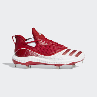 Icon V Bounce Cleats Power Red / Power Red / Cloud White G28267
