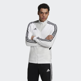 Tiro Track Jacket White / Black DY0103