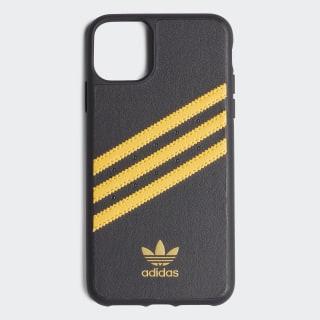Samba Molded iPhone 11 Pro Max Schutzhülle Black / Collegiate Gold EW1746