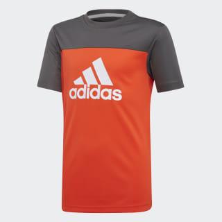 Футболка Equipment active orange / grey six / white DV2925