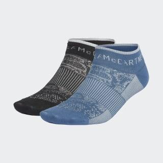 Ankle Socks Black / Vista Blue FJ2495