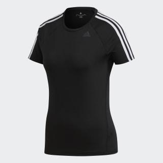 D2M 3-Stripes Tişört Black BK2682